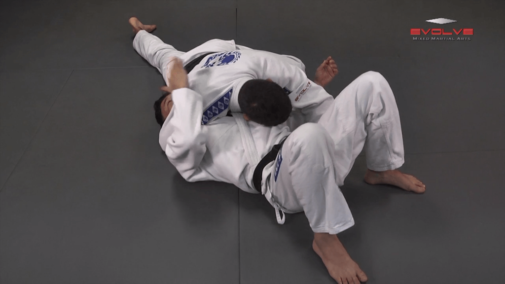 Lapel Choke From Side Control