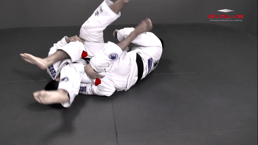 Leg Attack From Top Position