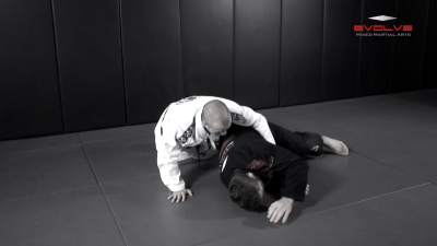 Leg Drag Guard Pass To Back Control Variation