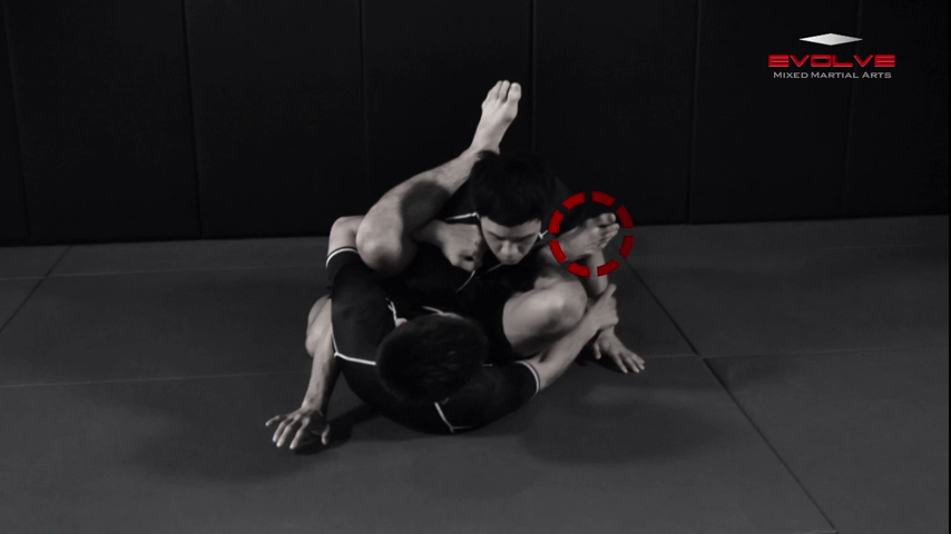 Leg Hook Guard Triangle Choke