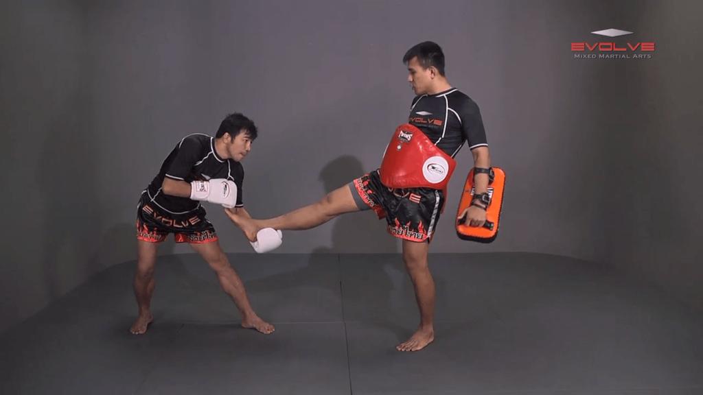 Muangfalek Kiatvichian: Catch Leg, Jump Kick
