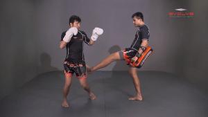 Muangfalek Kiatvichian: Twist Knee, Left Kick
