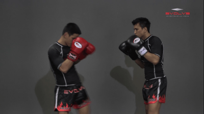 Namsaknoi Yudthagarngamtorn: High Push Kick Defense (Parry)