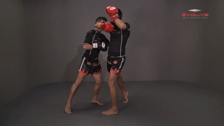 Namsaknoi Yudthagarngamtorn: Lean Back And High Kick