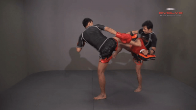Namsaknoi Yudthagarngamtorn: Push Kick To Counter Leg Catch
