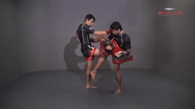 Namsaknoi Yudthagarngamtorn: Push Kick To High Push Kick