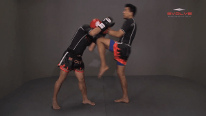 Namsaknoi Yudthagarngamtorn: Sweep And High Kick