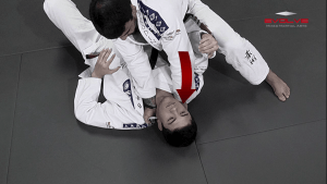 North-South Collar Choke From Knee On Belly Position