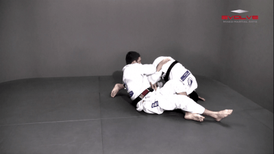 Omoplata From Lasso Spider Guard