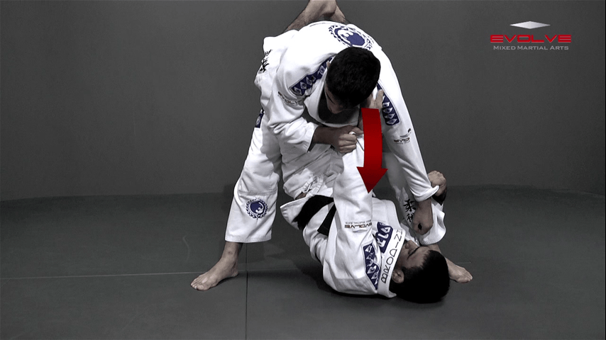 Omoplata Sweep From Standing Position