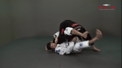 Omoplata Sweep To Triangle Lock Armbar