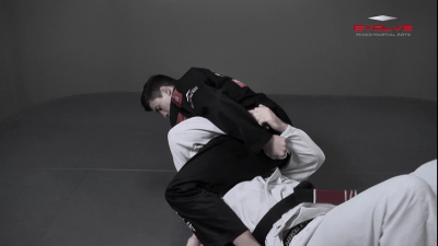 Omoplata Transition To Mounted Triangle