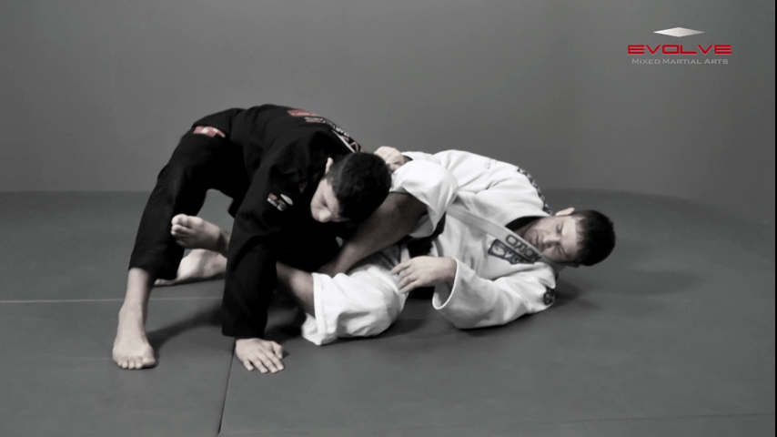 Omoplata Variation Hook The Leg