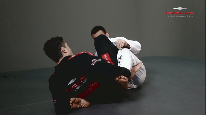 One Leg X Guard Sweep