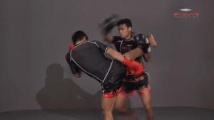 Orono Wor Petchpun: Catch High Kick To Takedown