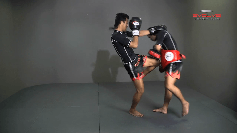 Orono Wor Petchpun: Left Block, Right Knee, Right Block, Left Knee