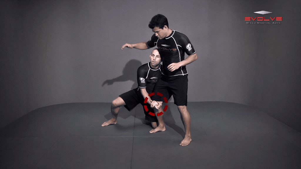 Outside Single Leg Basic Setup Elbow Pop