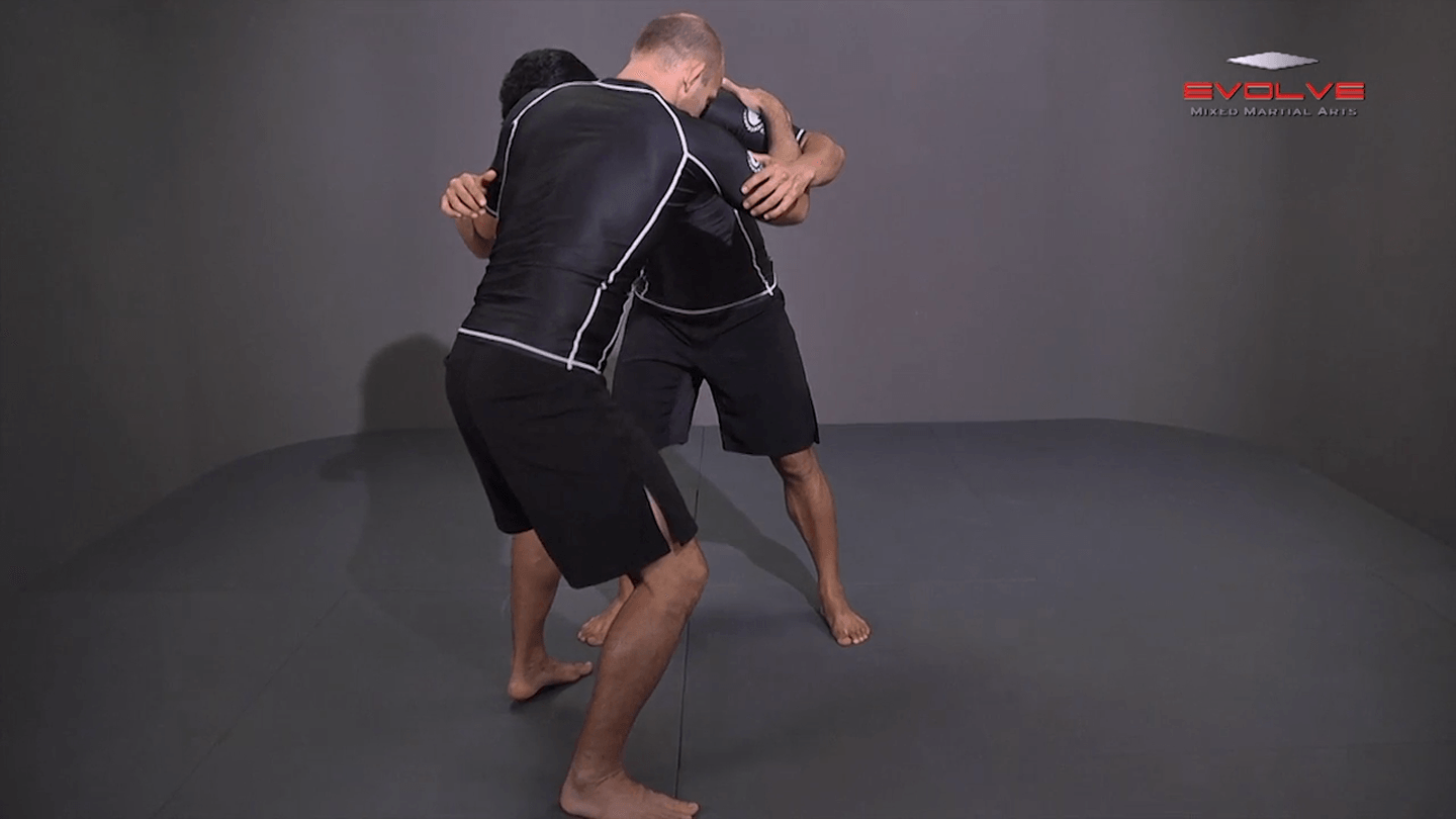 Outside Single Leg Basic Setup From Inside Tie