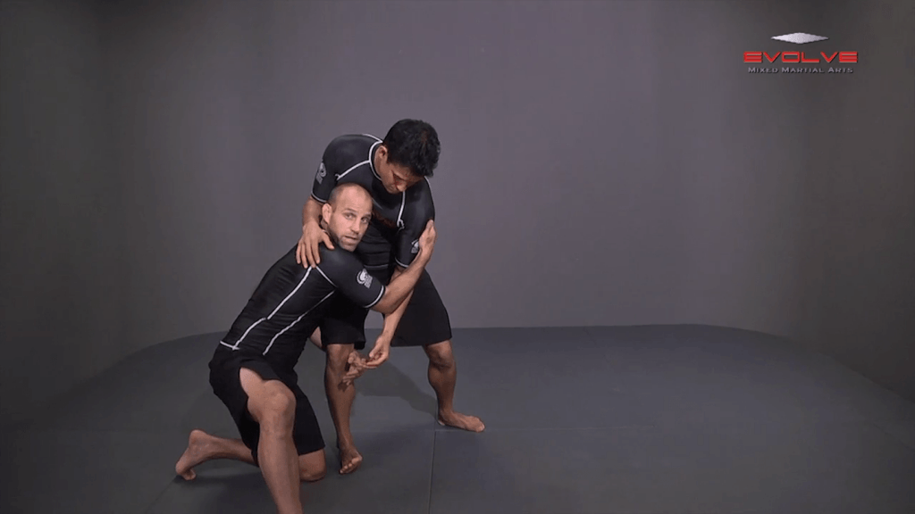 Outside Single Leg Basic Setup From Outside Tie