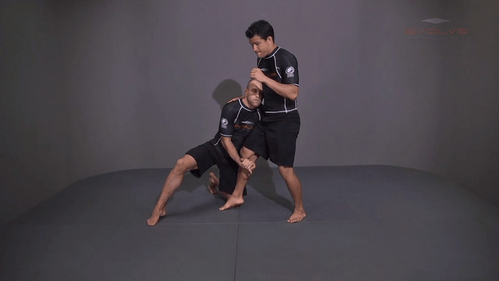 Outside Single Leg Basic Setup Head Snap