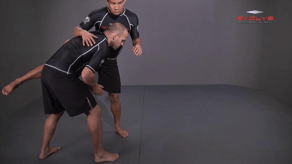 Outside Single Leg Dump Switch To Double Leg Finish