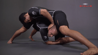 Outside Single Leg Finish Against Sprawl