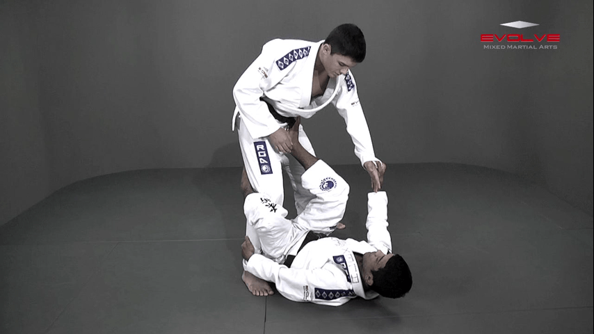 Passing The De La Riva Guard To Side Control