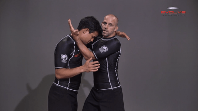 Pinch Headlock Basic Setup Elbow Pop