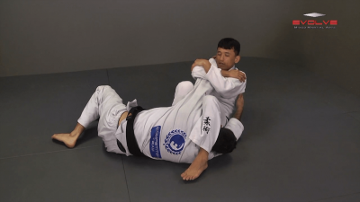 Pressing Arm Lock From Side Control