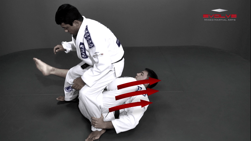 Reverse De La Riva Transition To Back Control