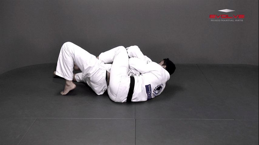 Reverse Half Guard Transition to Back Control