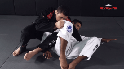 Reverse Omoplata From Turtle Position