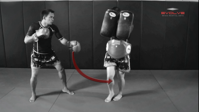 Saenghirun Lookbanyai: Catch & Throw, Right Kick X2, Catch, High Push Kick