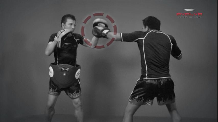 Saenghirun Lookbanyai: Jab, Low Kick, Left Hook