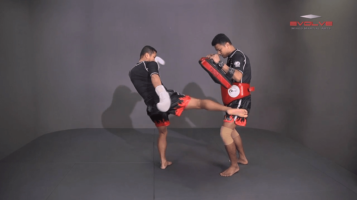 Saknarong Sityodtong: Cross Block, Low Kick