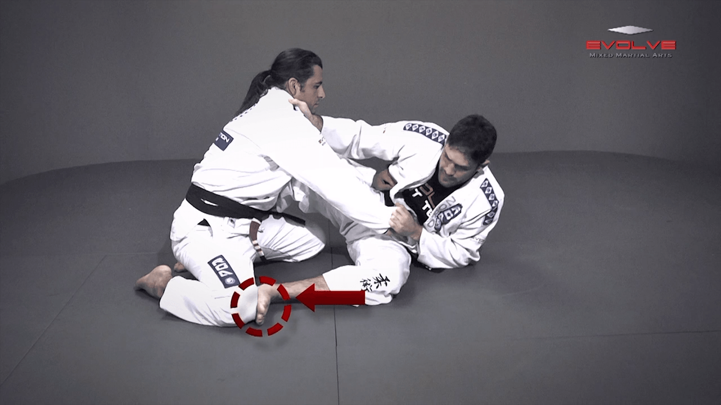 Scissor Sweep Variation