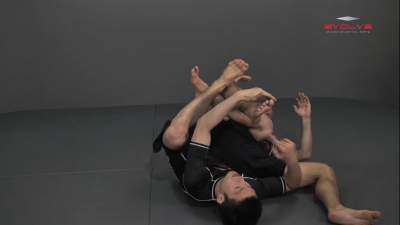 Shinya Aoki: Back Control Leg Lock