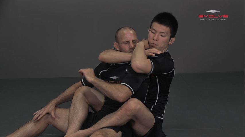 Shinya Aoki: Back Control Neck Crank