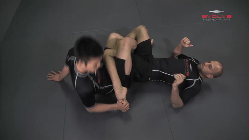Shinya Aoki: Top Position Ankle Lock