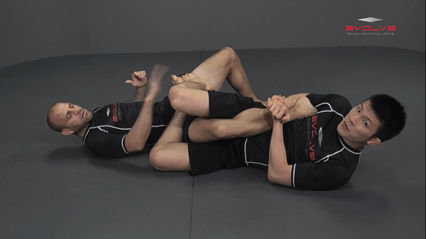 Shinya Aoki: Top Position Heel Hook