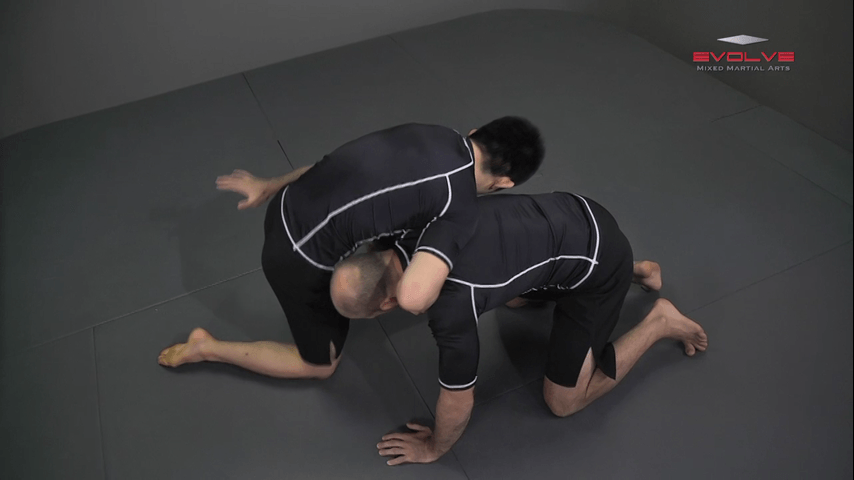 Shinya Aoki: Turtle Position Guillotine Choke