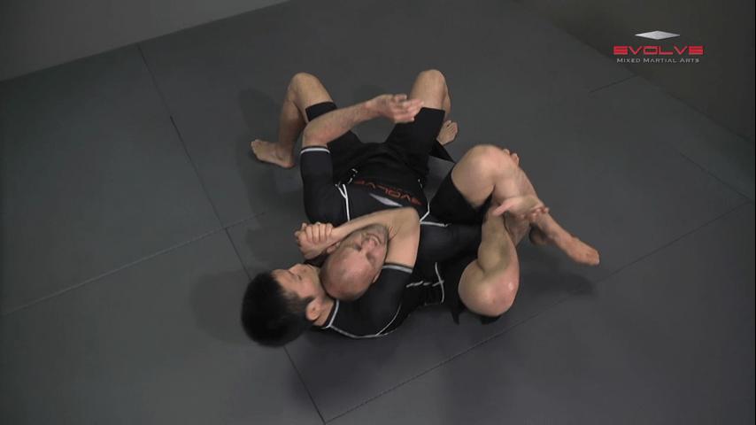 Shinya Aoki: Turtle Position Rolling Choke