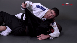 Shoulder Lock From Top Half Guard