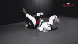 Shoulder Lock From Triangle Position
