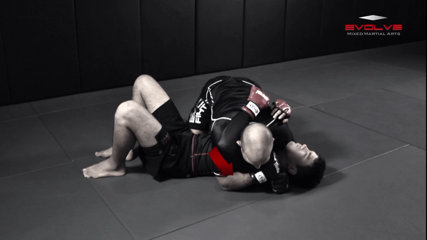 Side Control – Elbow On Chest
