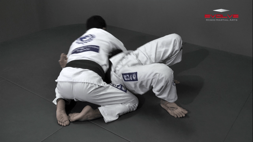 Side Control Escape To Take the Back