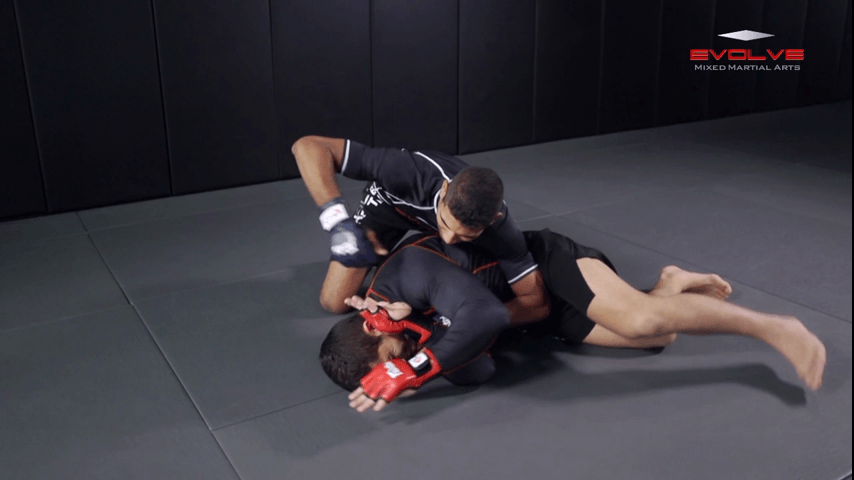 Side Control To Rear Naked Choke