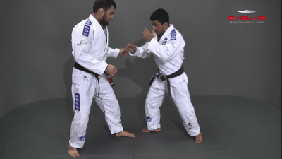Single Leg Counter Ouchi Gari
