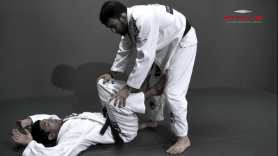 Single Leg Counter To Back Control