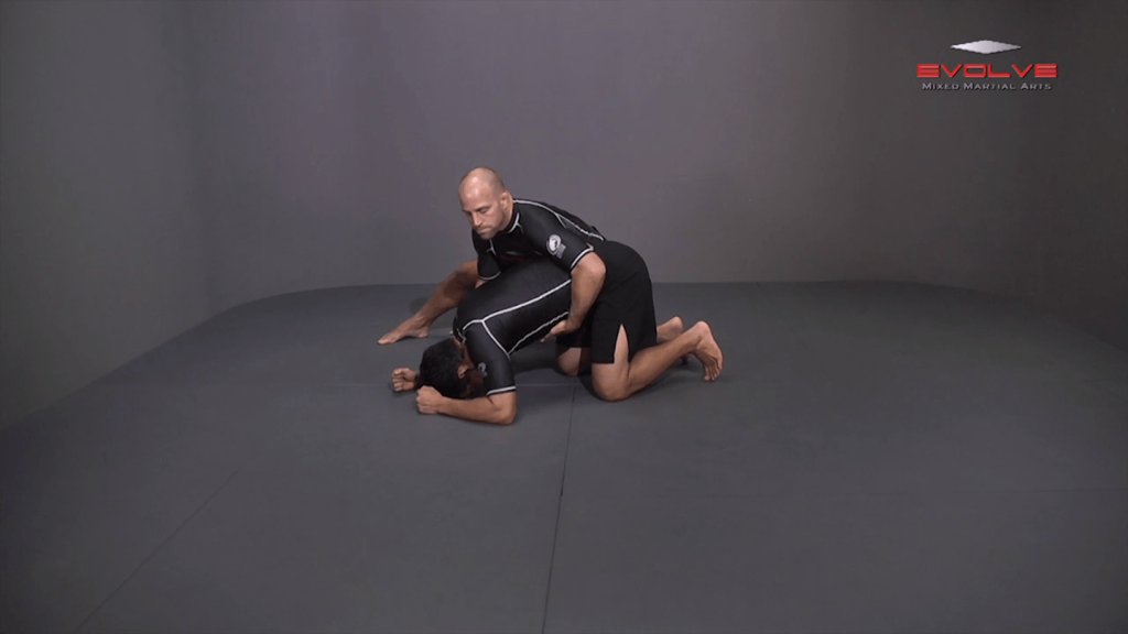 Single Leg Defense Against Basic Takedown